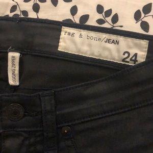 rag & bone Jeans - rag & bone coated legging jeans